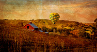 Red Barn and Balloon