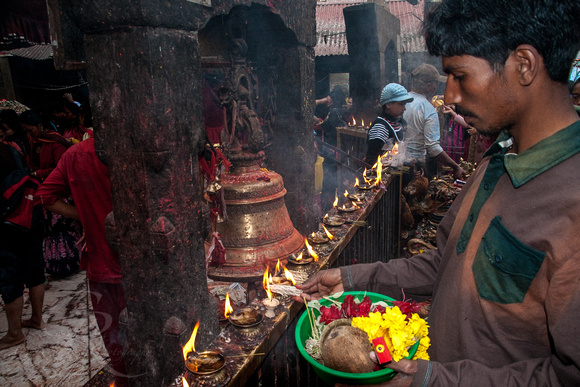 Temple Ceremony in Nepal