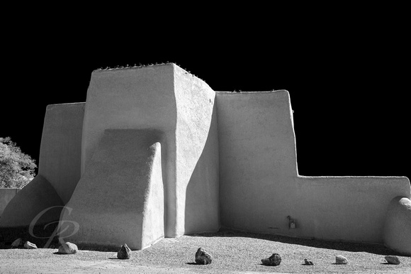 San Francisco de Asis - Taos in Black & White